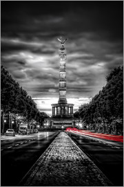 Sören Bartosch - Victory Column Berlin in the evening