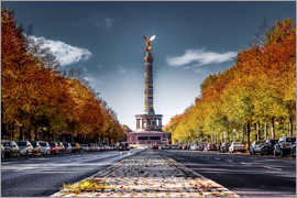 Sören Bartosch - Victory Column Berlin during Fall