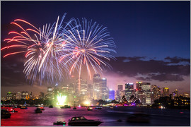 Matteo Colombo - New year's eve fireworks in Sydney, Australia