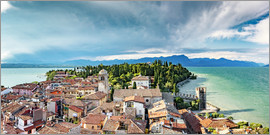 newfrontiers photography - Sirmione in Italy, with Lake Garda