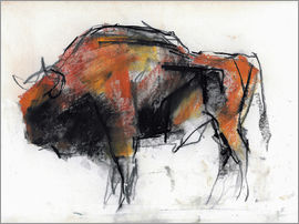 Mark Adlington - Sketch of a bull