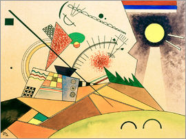 Wassily Kandinsky - Sketch for Moving Silence