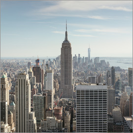 Matteo Colombo - Manhattan skyline with Empire State building, New York city, USA