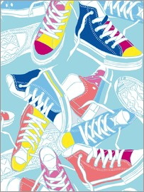 Nory Glory Prints - Sneakers urban design shoes art decor