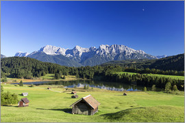 Dieter Meyrl - Sunny day at Geroldsee in Alps