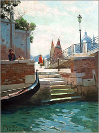 Peder Mork Mönsted - Summer day in Venice