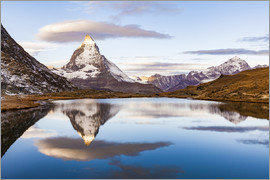 Dieterich Fotografie - Sunrise at the Matterhorn in Switzerland