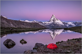 Achim Thomae - Sunrise at Matterhorn - Valais, Switzerland