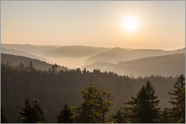 Dieterich Fotografie - Sunrise on the Schliffkopf in the Black Forest