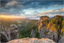 Michael Valjak - Saxon Switzerland Sunrise