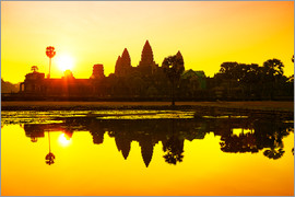 Angkor Wat sunrise at Cambodia