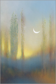 Graham Ovenden - Sunrise and Moon