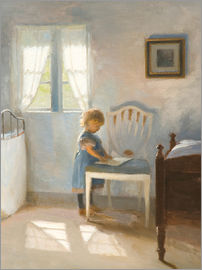 Peter Vilhelm Ilsted - Sunlight in the nursery