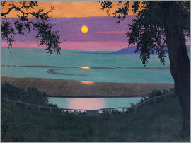 Felix Edouard Vallotton - sunset