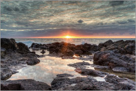 Michael Valjak - Sunset on the sea in Bajamar in Tenerife