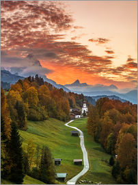 Achim Thomae - Bavarian Sunset - Germany