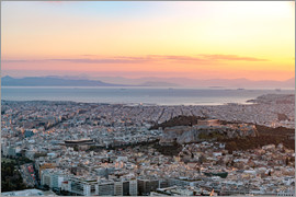 George Pachantouris - Sunset in Athens