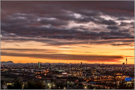Achim Thomae - Sunset over Munich (Bavaria)