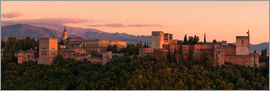 Tobias Richter - Spain - Granada Alhambra Sunset