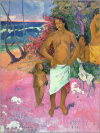 Paul Gauguin - A Walk by the Sea