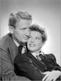 Spencer Tracy et Katharine Hepburn