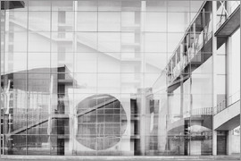 Philipp Dase - Reflection on Paul Löbe House in Berlin's government district