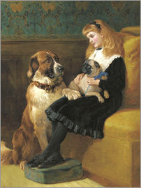 Hardy Heywood - Her only Playmates, 1870