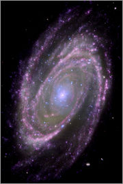 Nasa - Spiral galaxy M81, composite image