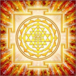 Dirk Czarnota - Sri Yantra - Artwork Light