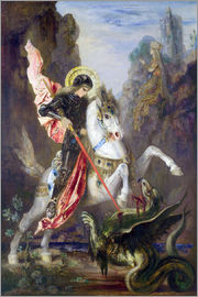 Gustave Moreau - St. George and the Dragon