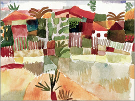 Paul Klee - St. Germain in Tunis