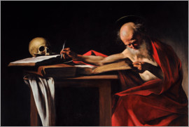 Michelangelo Merisi (Caravaggio) - Saint Gerome Writing