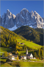 Miles Ertman - St. Magdalena, Val di Funes, Trentino-Alto Adige, Dolomites, South Tyrol, Italy, Europe