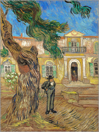 Vincent van Gogh - Hospital St. Paul at Saint-Rémy-de-Provence