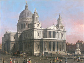 Antonio Canaletto - St. Paul's Cathedral
