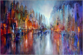 Annette Schmucker - City by the river