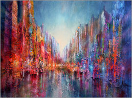 Annette Schmucker - city on the river 2