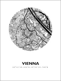 44spaces - City map of Vienna