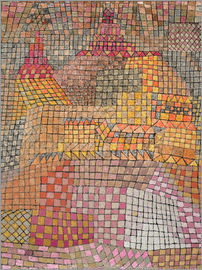 Paul Klee - city ??Palace
