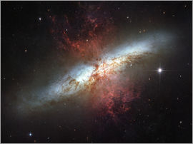 Stocktrek Images - Starburst galaxy, Messier 82