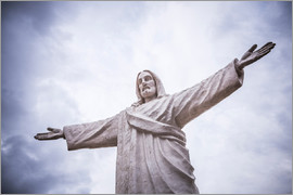 Matthew Williams-Ellis - Statue of Christ (Cristo Blanco) (White Jesus), Cusco, Peru, South America