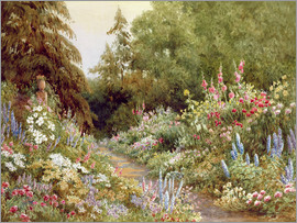 Evelyn L. Engleheart - Herbaceous Border