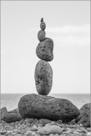 Gerhard Wild - Stone tower on the beach