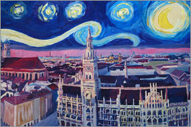 M. Bleichner - Starry Night in Munich