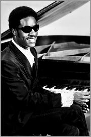 Stevie Wonder at the piano
