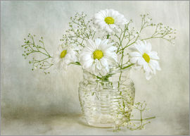 Mandy Disher - Still life with Chrysanthemums