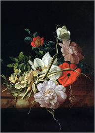 Rachel Ruysch - Still Life with Flowers