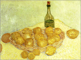 Vincent van Gogh - Still life with bottle, lemons and oranges