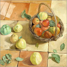 Timothy Easton - Still Life apple basket