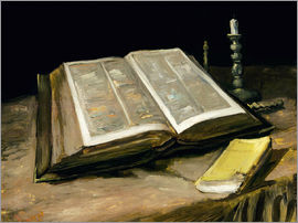Vincent van Gogh - Still Life with Bible